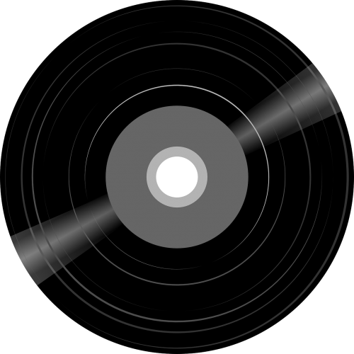 record disk music