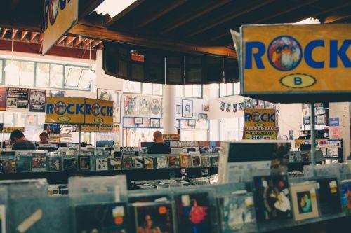 record shop store