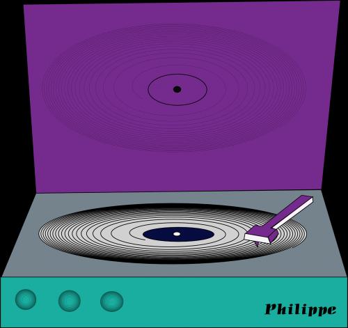 record player audio equipment