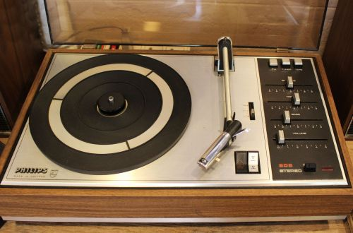 record player sound center record
