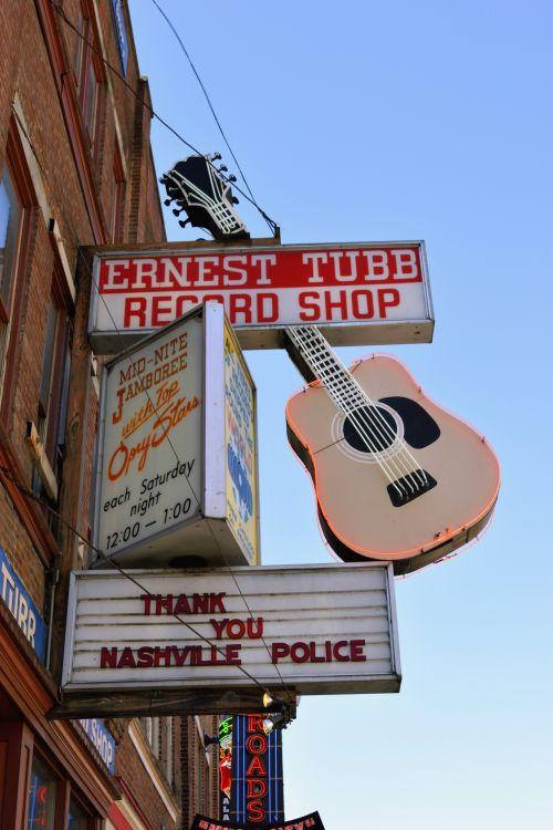 Record Shop Sign