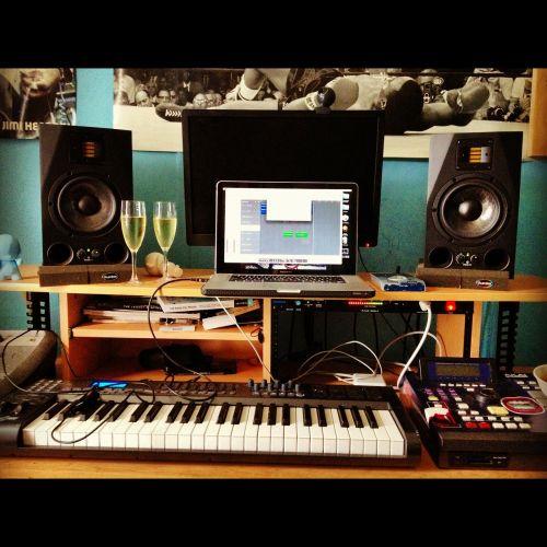 recording studio music
