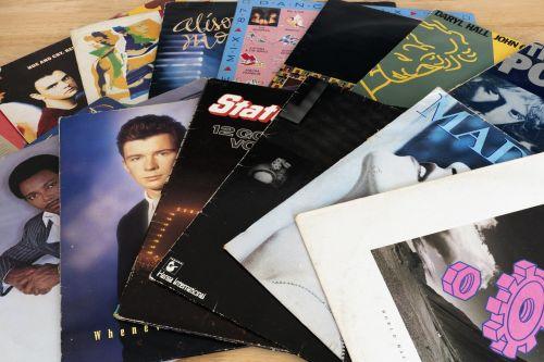 records vinyl 1980's