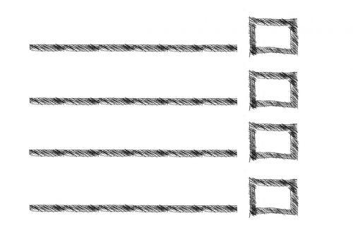 rectangle list lines
