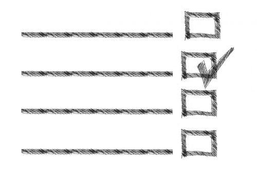 rectangle box list