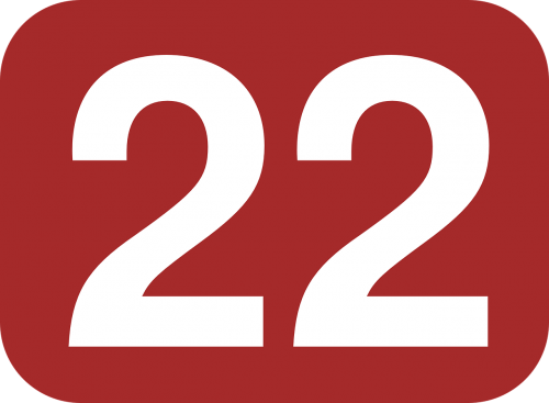 rectangle rounded 22