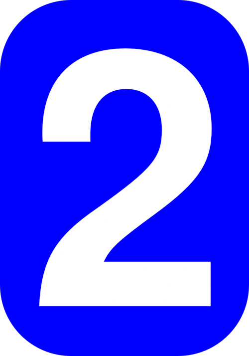 rectangle rounded numeral
