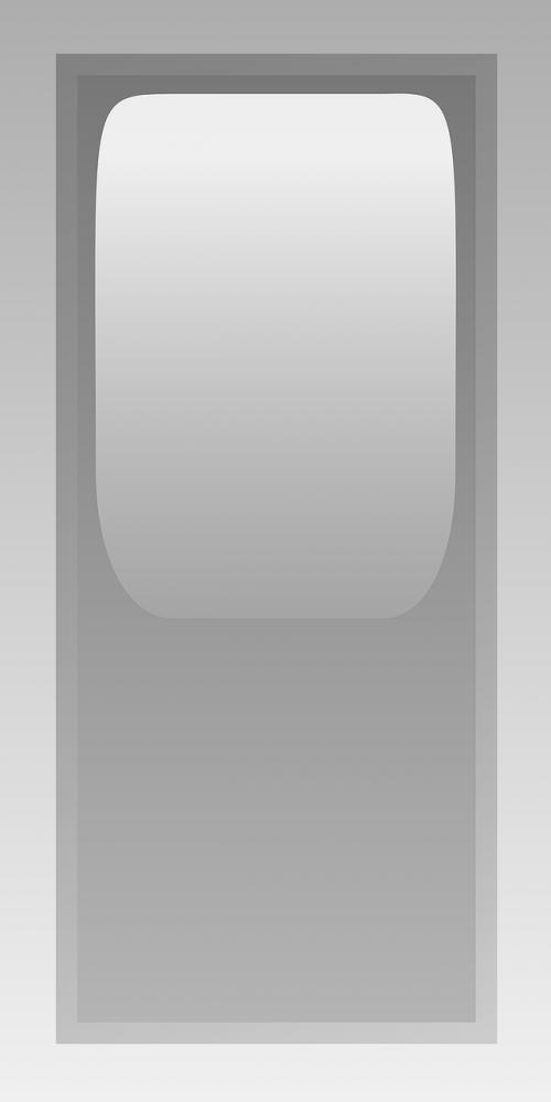 rectangular grey led