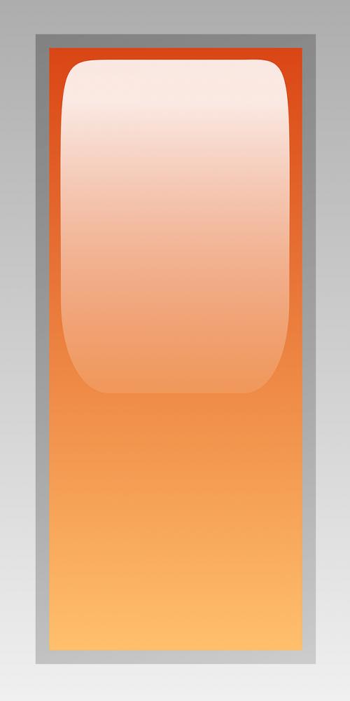 rectangular orange led