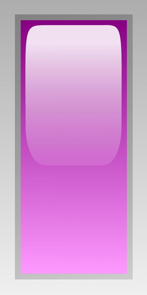 rectangular purple led