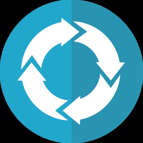 recursion icon iteration icon clockwise