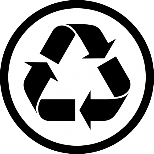 recycle sign arrows