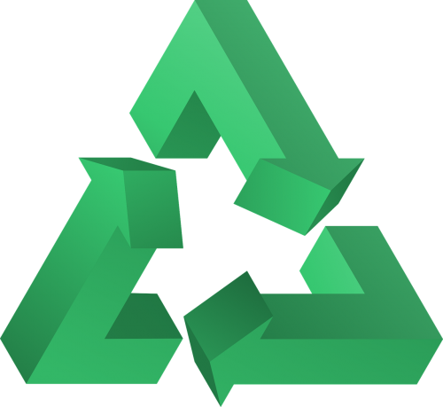 recycle triangle symbol