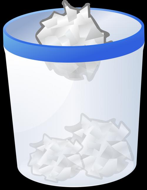 recycle trash garbage