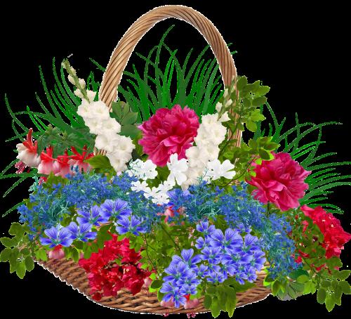 recycle bin wicker basket