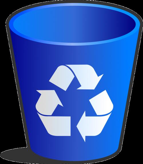 recycle bin wastebasket wastepaper basket