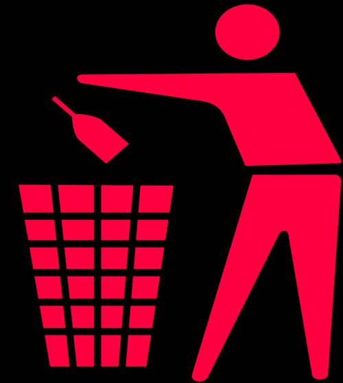 recycling garbage waste basket