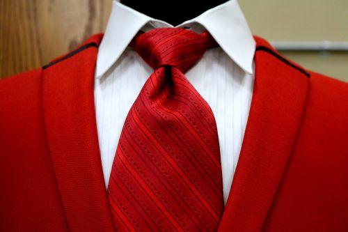 red vest suit