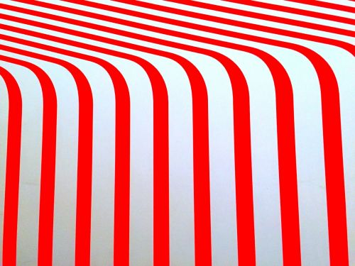 red white lines