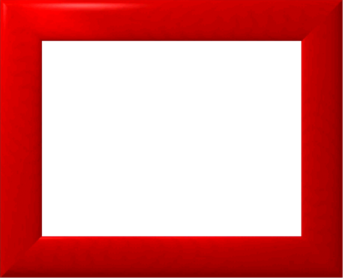 red frame photo