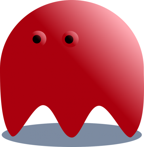 red ghost pacman