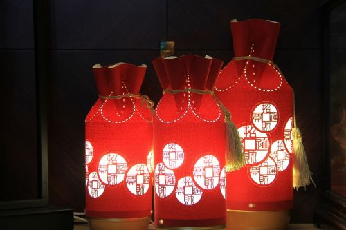 red 燈 decorations