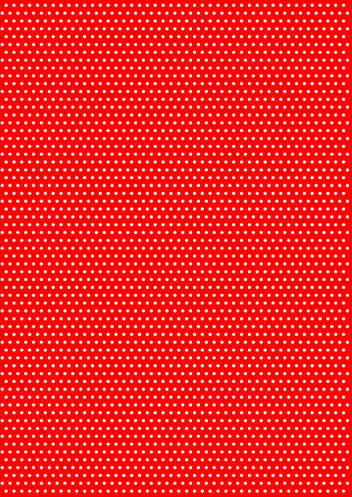 red polka dot texture