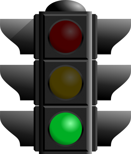 green light traffic light signals