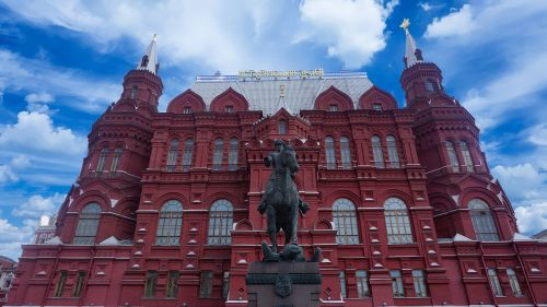 red horse moscow