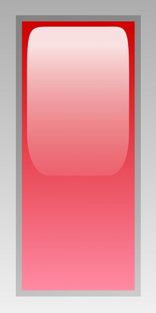 red rectangular led