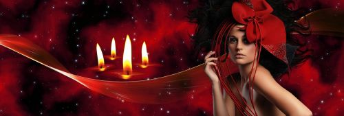 red red candles festival