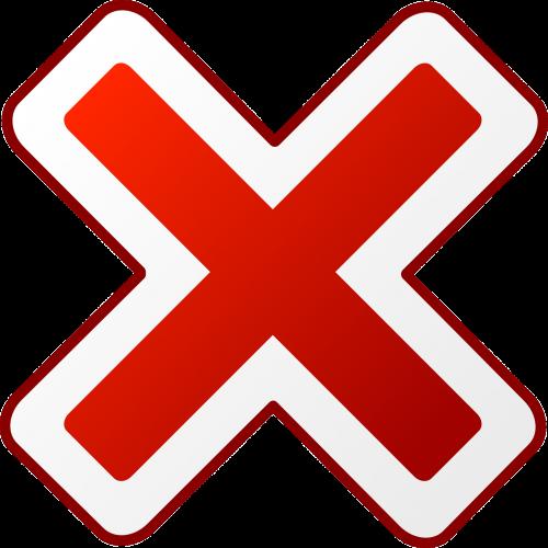 red cross cancel