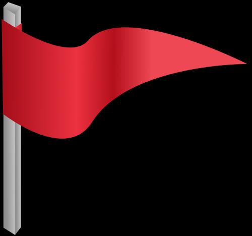 red flag pennon