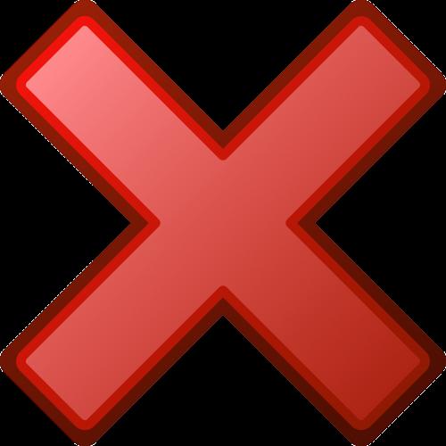 red cross error