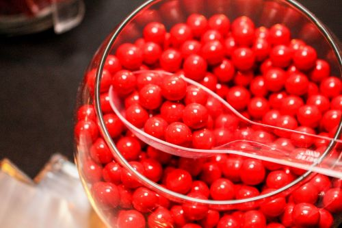 red candy sugar