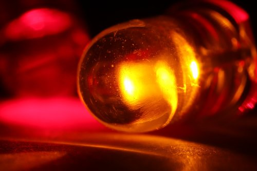 red  led  light-emitting diode