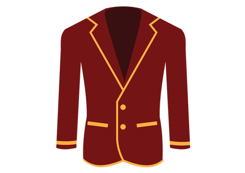 red  blazer  yellow