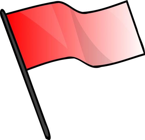 red flag signal
