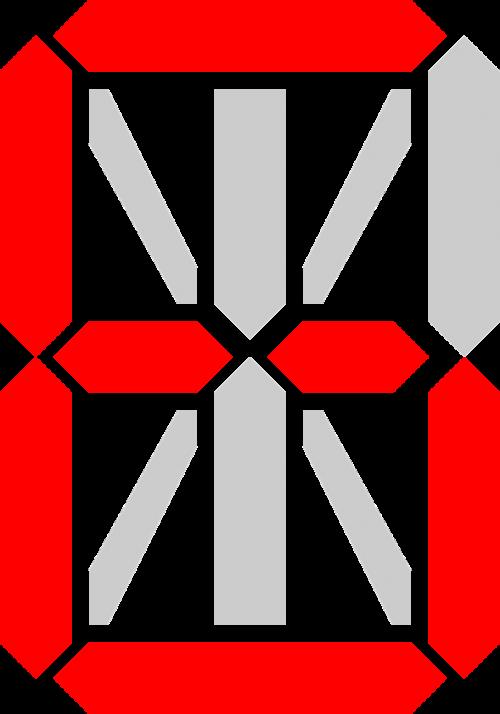 red display six