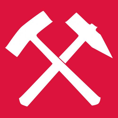 red white iron