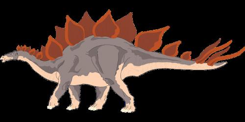 red gray dinosaur