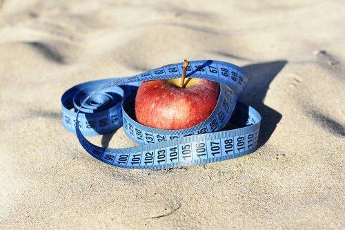 red apple  measure  diet