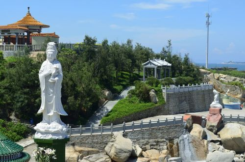 red bay the south china sea goddess of mercy temple 3 shanwei