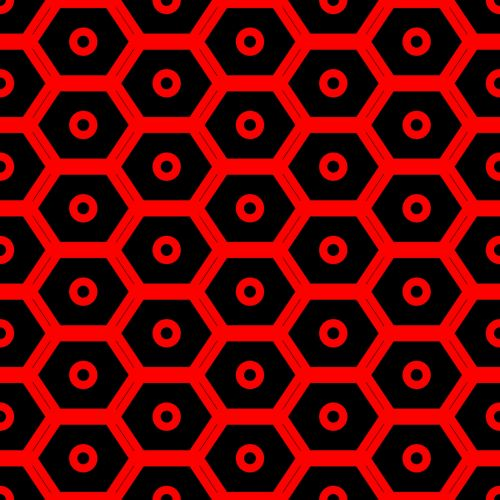 Red Bee Hive Texture