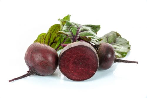 red beets vegetables foliage