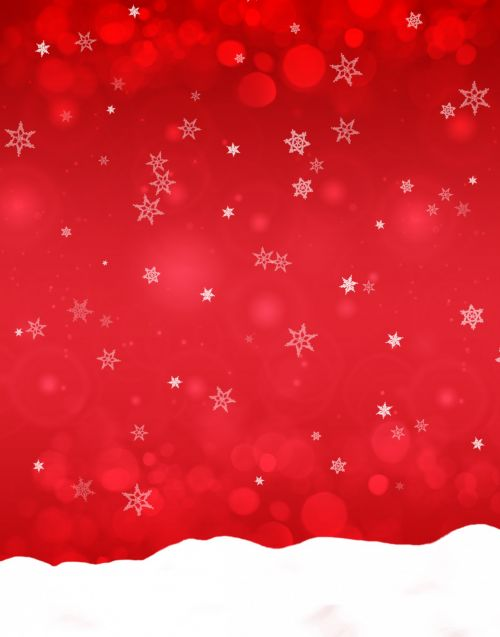 Red Blend Snow Backing Paper