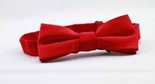 red bow tie tie men's clothing