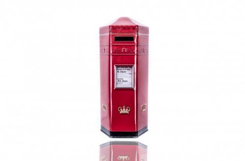 Red British Postbox