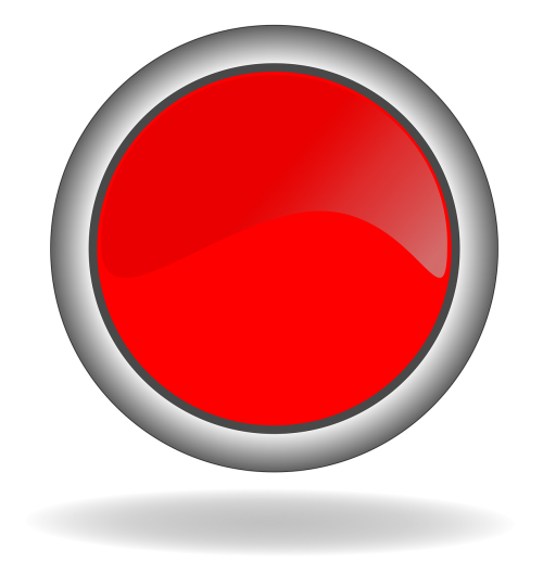 red button button icon