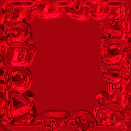 Red Celebration Frame